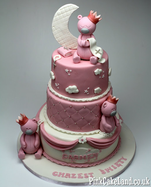 Christening Cakes for Girls in London