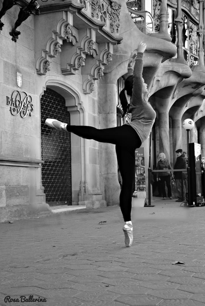 fotografía de ballet en exteriores barcelona