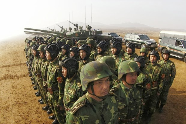 China Mobilizes 100,000 Troops In Preparation For Korean Peninsula Crisis