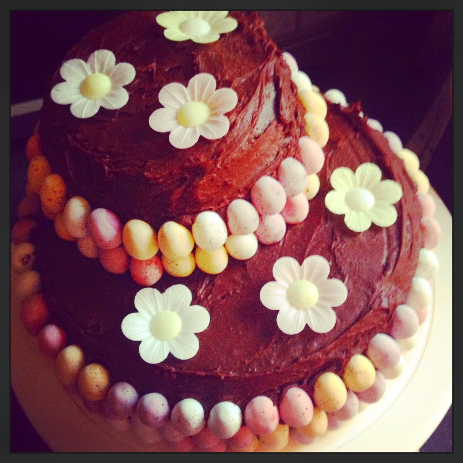 Cadbury Mini Egg Chocolate Easter Cake