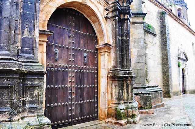 Wooden Door Ronda Spain