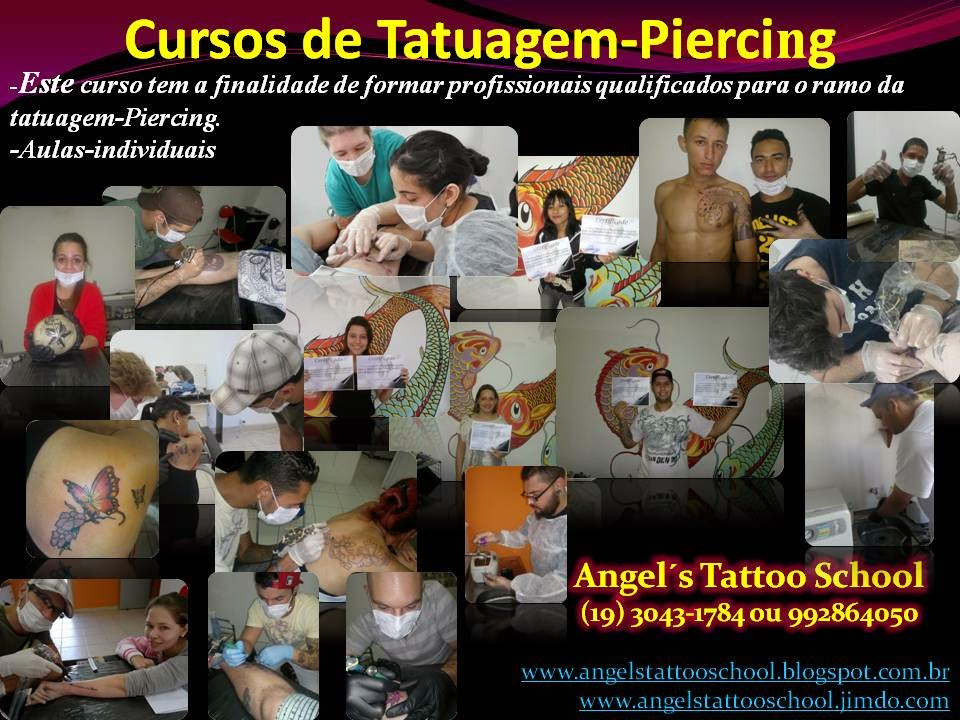 curso tatuagem em Campinas - Cambui
