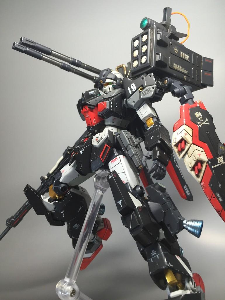 HGUC 1/144 JESTARK - Customized Build