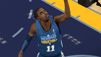 NBA 2K13 Mike Conley - Grizzlies vs Spurs Update