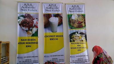 Azul Authentic Nasi Kukus | Selera ala Pantai Timur
