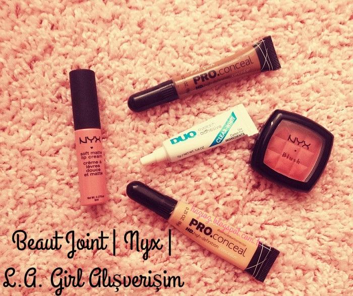 Beaut Joint Nyx, L.A. Girl Alışverişim