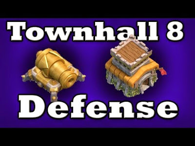 Tips Defense Base Town Hall 8 Clash Of Clans