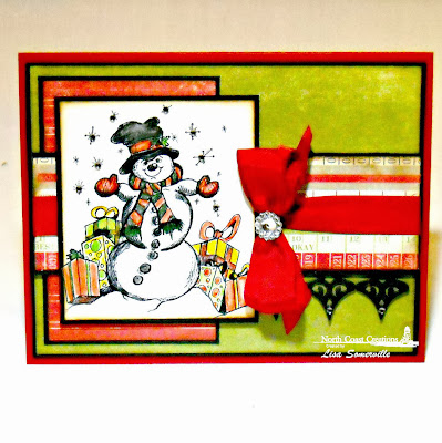 Stamps - North Coast Creations Let it Snow, Our Daily Bread Designs Custom Fancy Ornaments Die