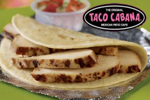 Free Chicken Fajita Taco at Taco Cabana