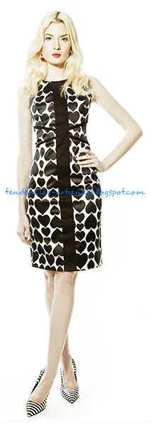 vestido de fiesta corto Janet Wise verano 2014