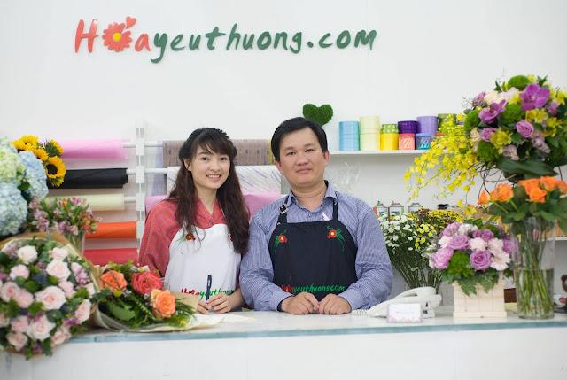 Phạm Hoàng Thái Dương CEO hoayeuthuong.com