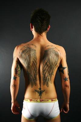 Angel Wings Tattoo Designs For Men,tattoos designs for men,tattoo designs for men,angel wing tattoos,tattoos pics,tattoos designs,angel tattoos for men