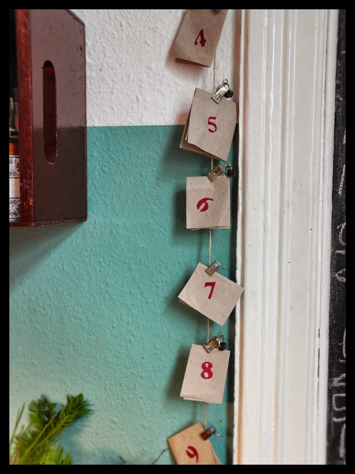diy ausb chser in adventskalender mit r tseln oder. Black Bedroom Furniture Sets. Home Design Ideas