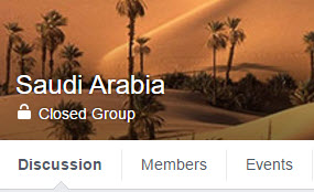 Join Facebook Group 'Saudi Arabia' (16,000+ Members) :