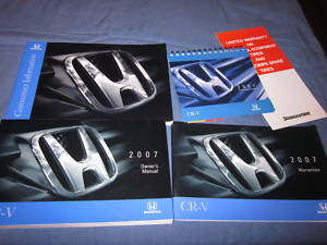 2007 Honda CR V Owners Manual