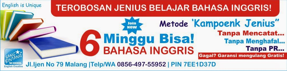 Kursus Bahasa Inggris Cepat di Malang | SBS Malang