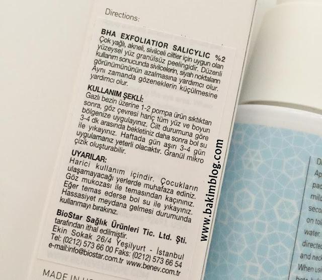 bha exfoliator oily skin peeling review blog