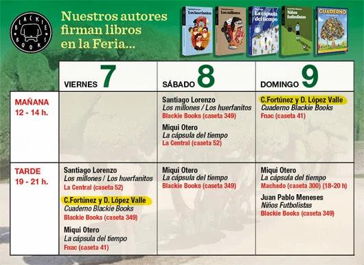 Cartel horarios Cristóbal Fortúnez