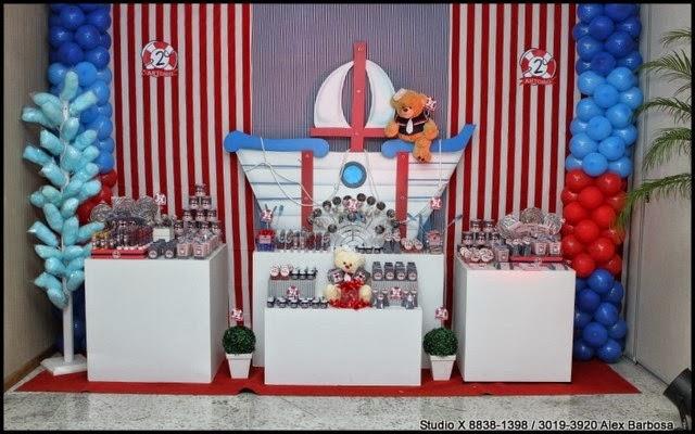 Decorao de festa infantil ursinho marinheirog festa infantil decorao de festa infantil ursinho marinheiro thecheapjerseys Image collections