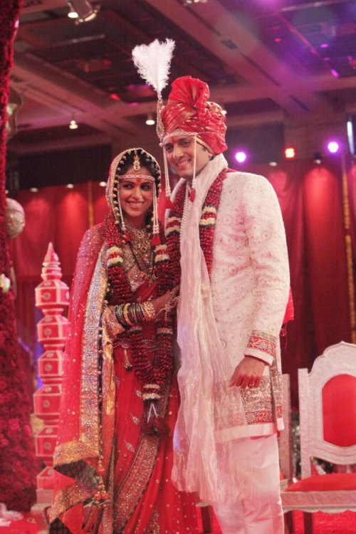 Genelia Ratesh deshmukh wedding images