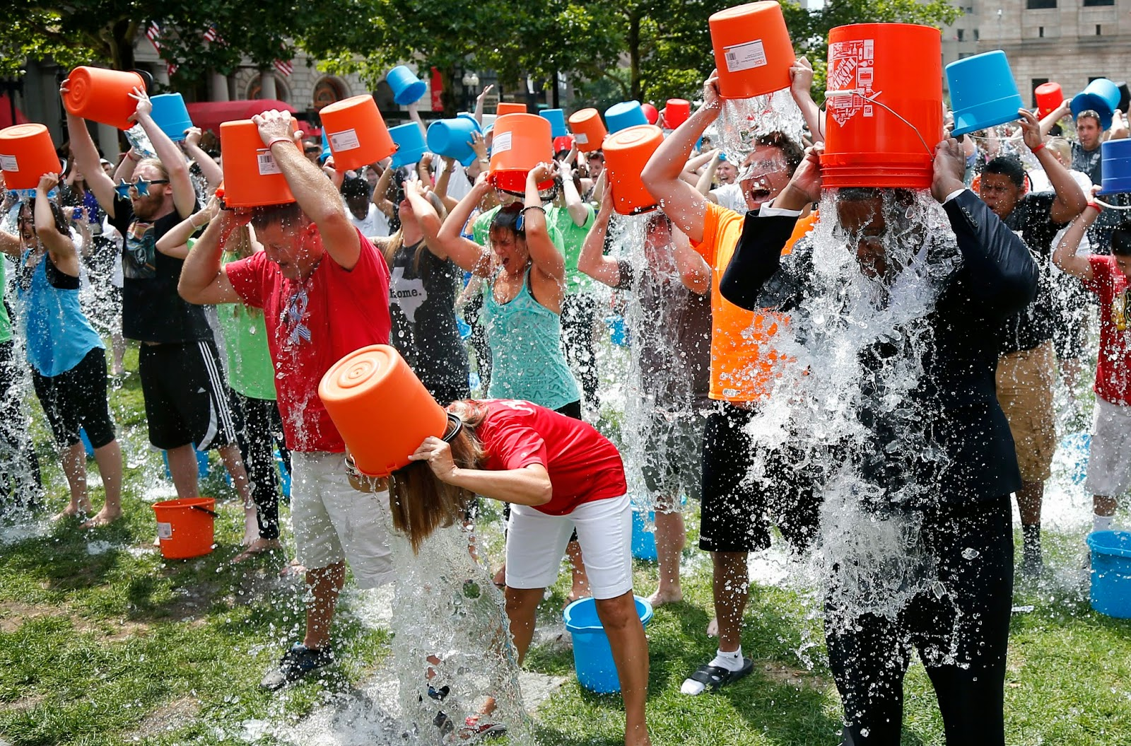 ice bucket challenge activism or slacktivism People around the world and in winnipeg are dumping buckets of ice water on their  with als ice bucket challenge cbc  bucket challenge': activism or slacktivism.