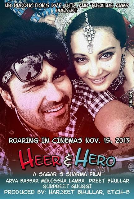 Heer And Hero 2013 DVDRip 400mb