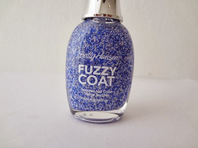 Bottle shot of the Sally Hansen fuzzy coat nail polish in Tight Knit by GlamorousGia.