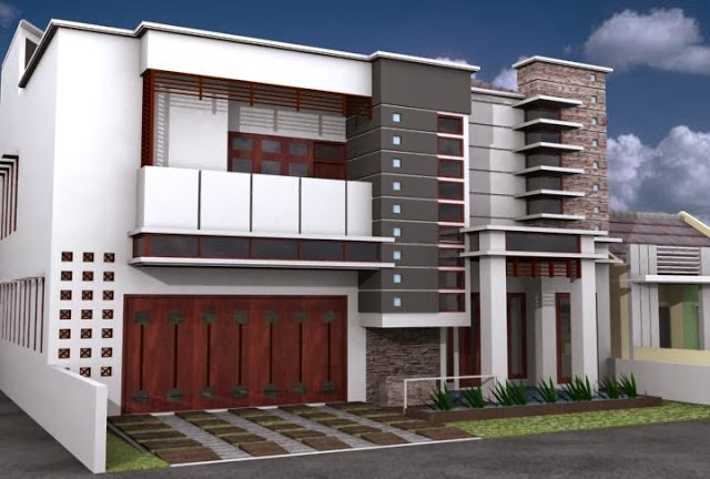 Model Rumah Mewah Minimalis 2014