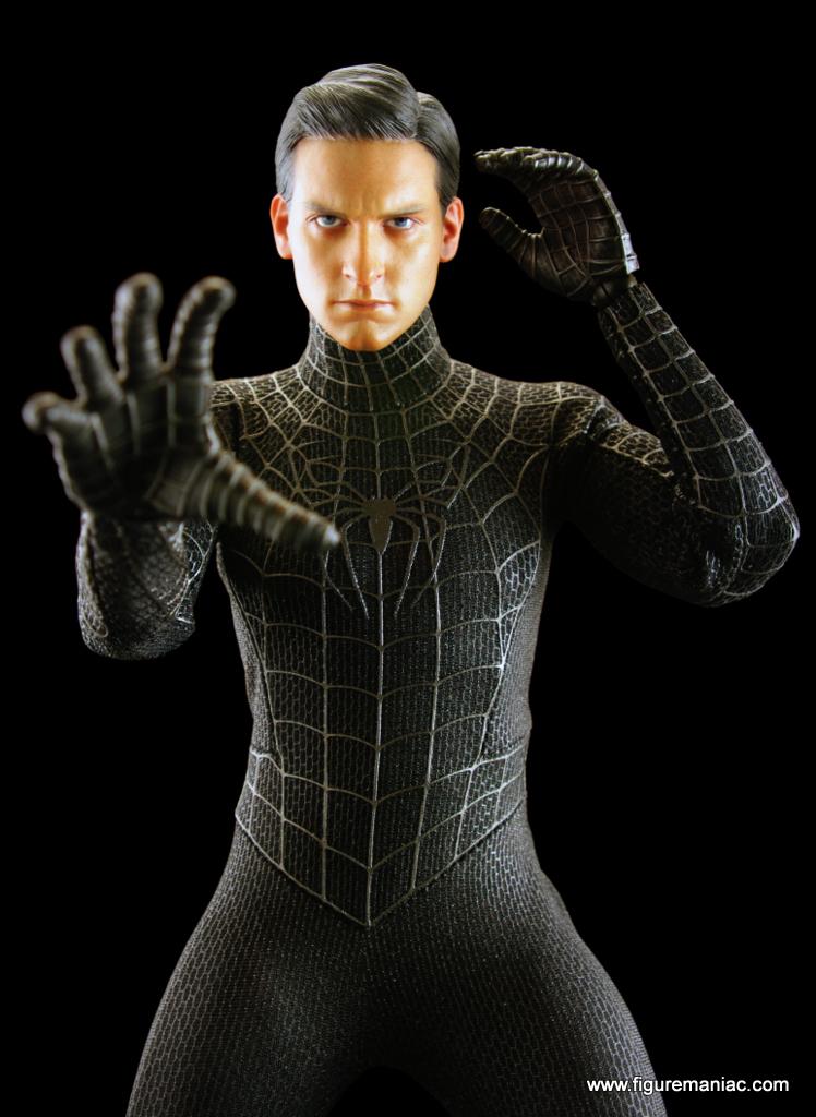 Hot Toys Spider-man 3 - Spider-man (Black Suit Version ...