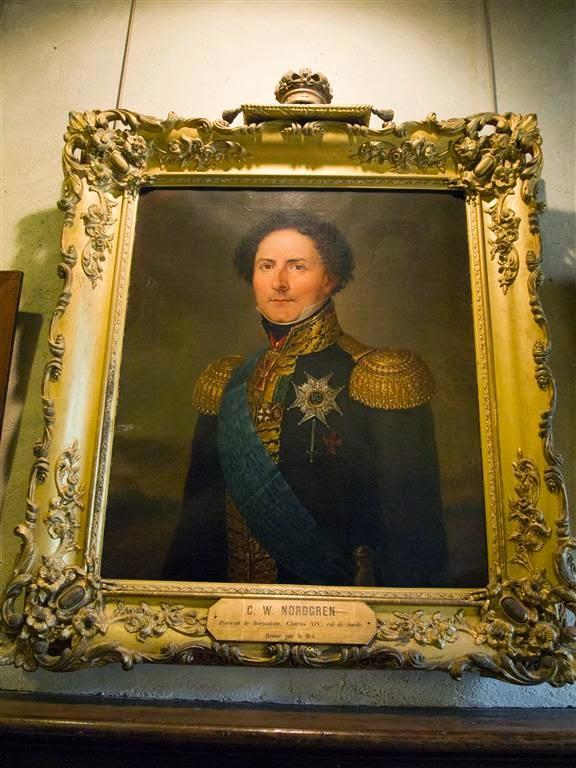 Rey Carlos XIV Juan de Suecia