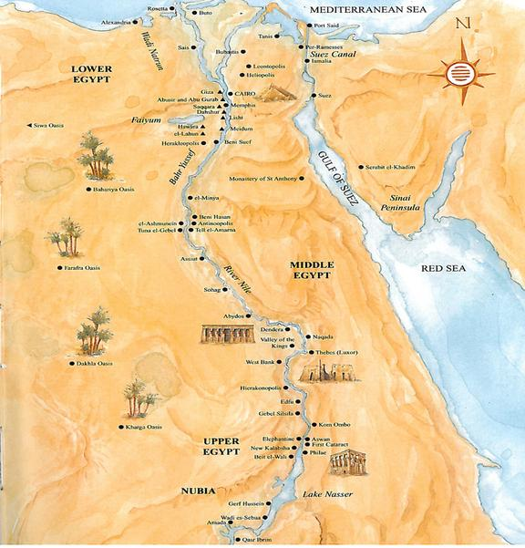 Roman Egypt BCAD Ancient Egypt Facts - Map of egypt before christ
