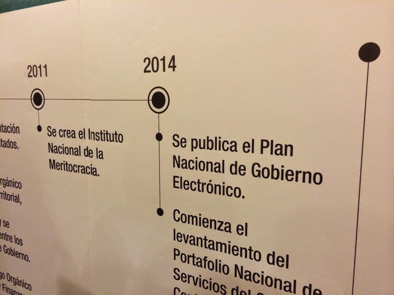 Resumen de lo que se hizo el 2014 en materia de Gobierno Electrónico en Ecuador