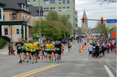 マラソンにおけるペースメーカー(3時間30分ペース)