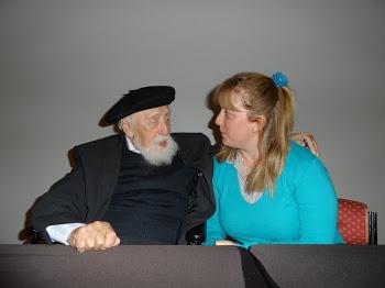 Il Prof.re Reuven Feuerstein e la Dr.ssa M.Luisa Boninelli
