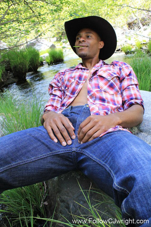 Black Cowboy Woods Gay
