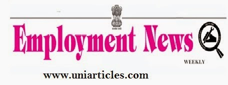 Weekly Employment News of 11th April - 17th April 2015