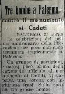 Palermo - 25 aprile 1946