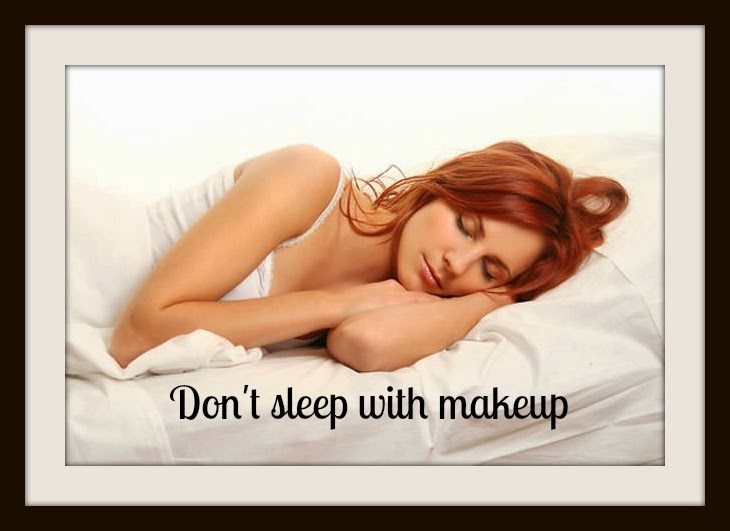 sleep-makeup