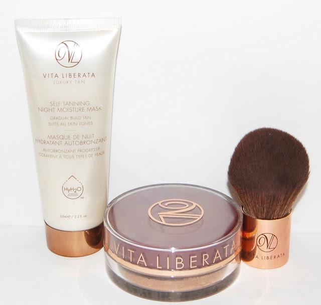 Vita Liberata Self-Tanning Mask & Trystal Self-Tanning Bronzer