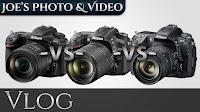 Nikon D500, D7200 & D300s - Camera Comparison | Vlog