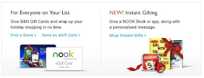 Click to view this Dec. 20, 2011 Barnes & Noble email full-sized