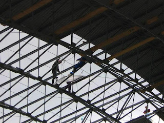 Rope Access on Metal Structure