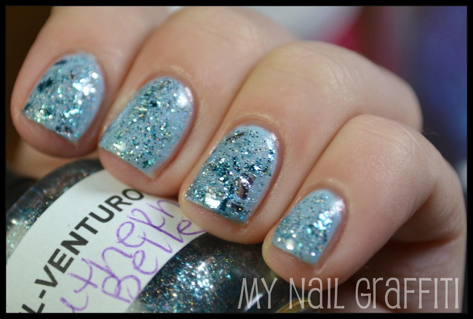 Nails Views Sinful Colors Cinderella Nail Venturous Nail Lacquers