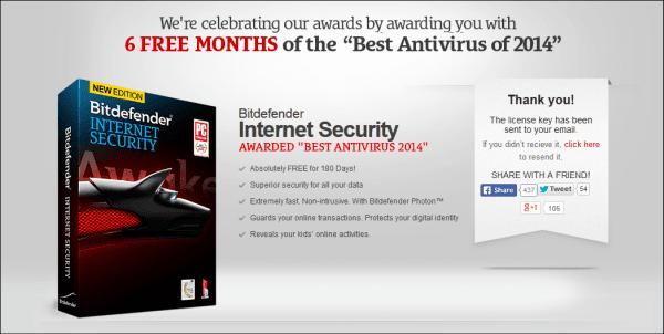 الحماية Bitdefender Internet Security شهور,بوابة 2013 free-bitdefender-int