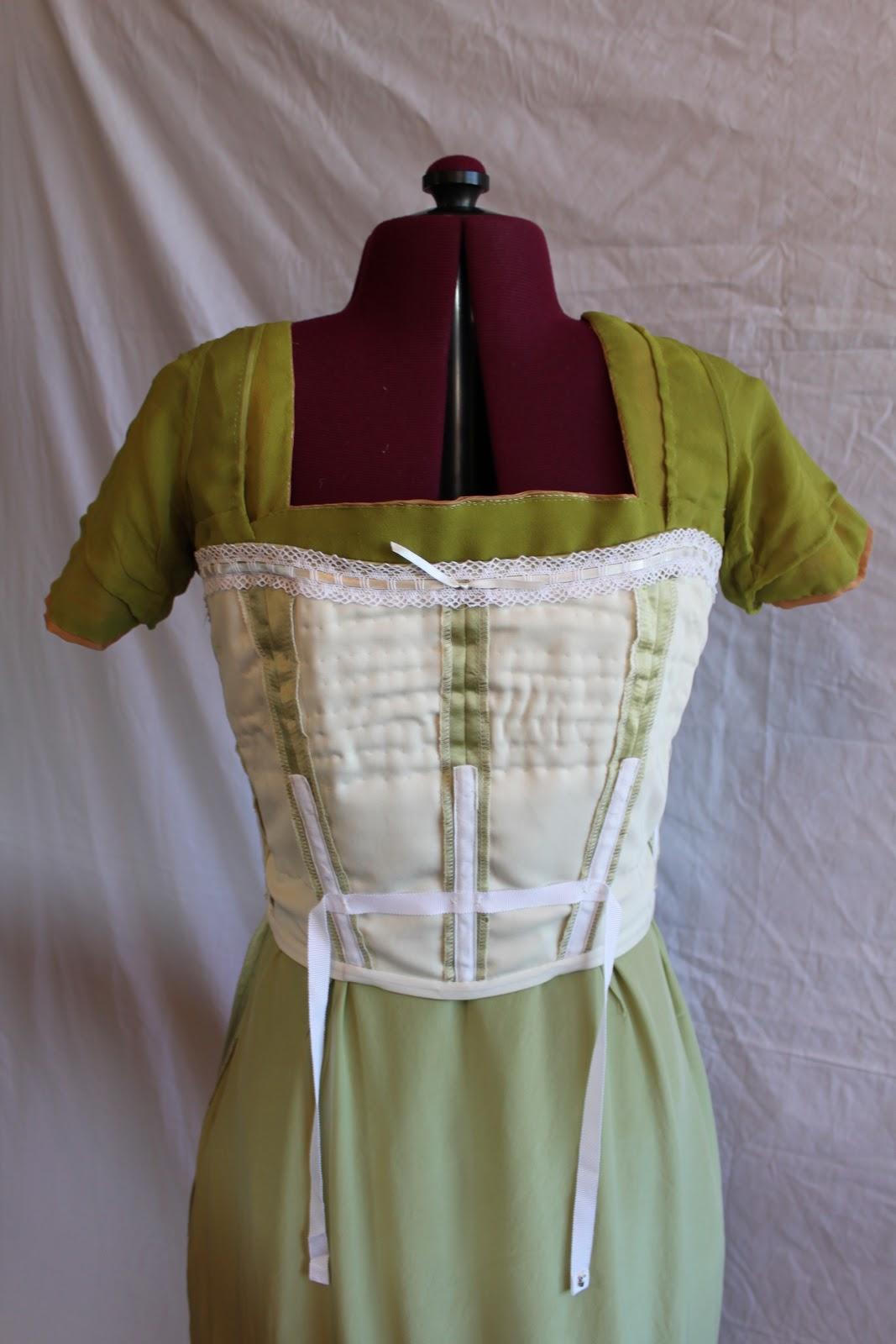 Diary of a Mantua Maker: 1910s Evening Dress Inside-Out