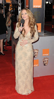 Kimberley Walsh at the Baftas