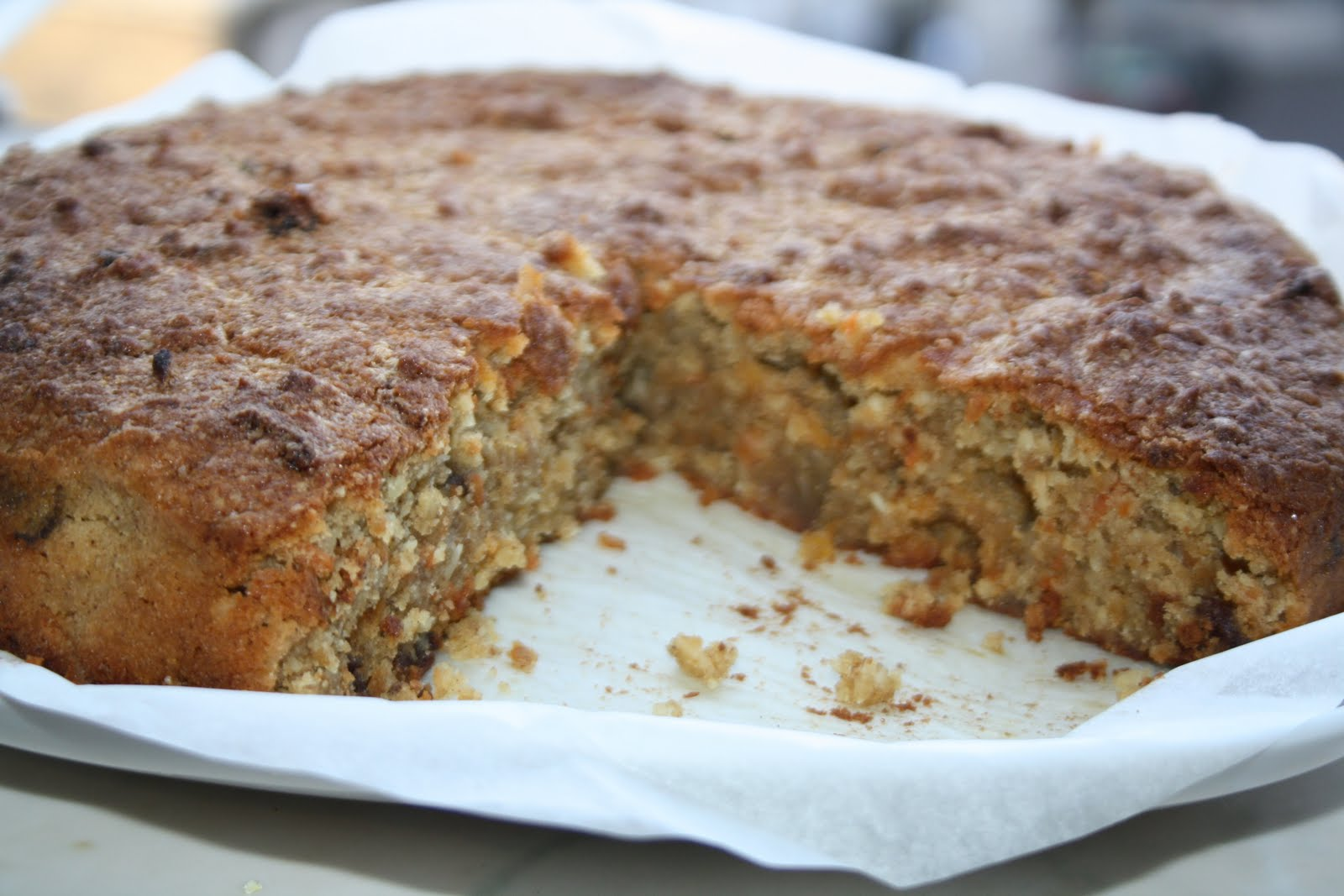 ... Passions: RECIPE: Flourless Carrot, Pistachio and Coconut Cake