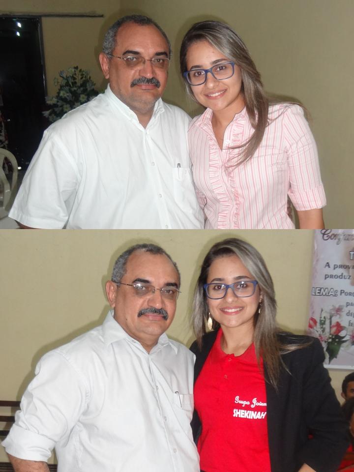 Amélia Marinho - Uma benção em nossa Comunidade de Fé.