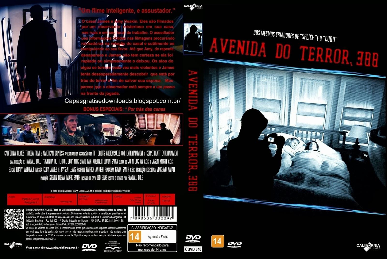 Avenida do Terror 388 DVD Capa