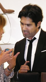 Celeb shoe designer Brian Atwood.